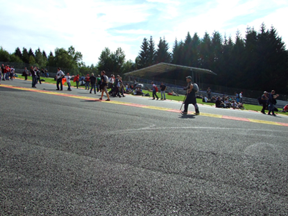 Eau Rouge, Spa Francorchamps Circuit